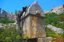 Simena tomb and castle