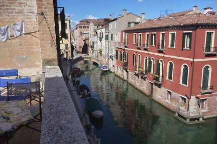 Our canal by day