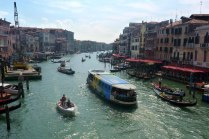 View from Rialto bridge