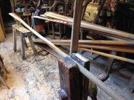 Workshop also makes Greenland paddles