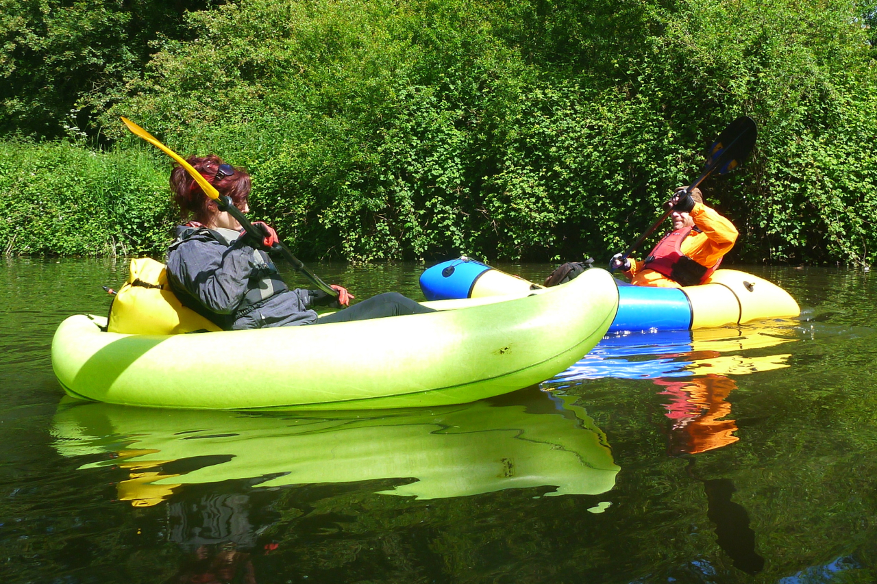 Packraft Group Test: Aire BAKraft | Inflatable Kayaks