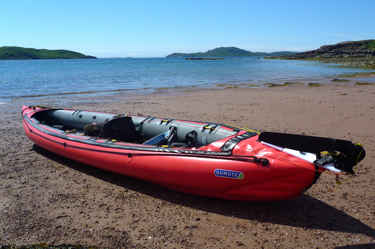Seawave Rudder MkII tested | Inflatable Kayaks & Packrafts