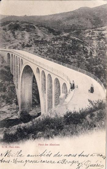 Pont des Abarines, Gardon