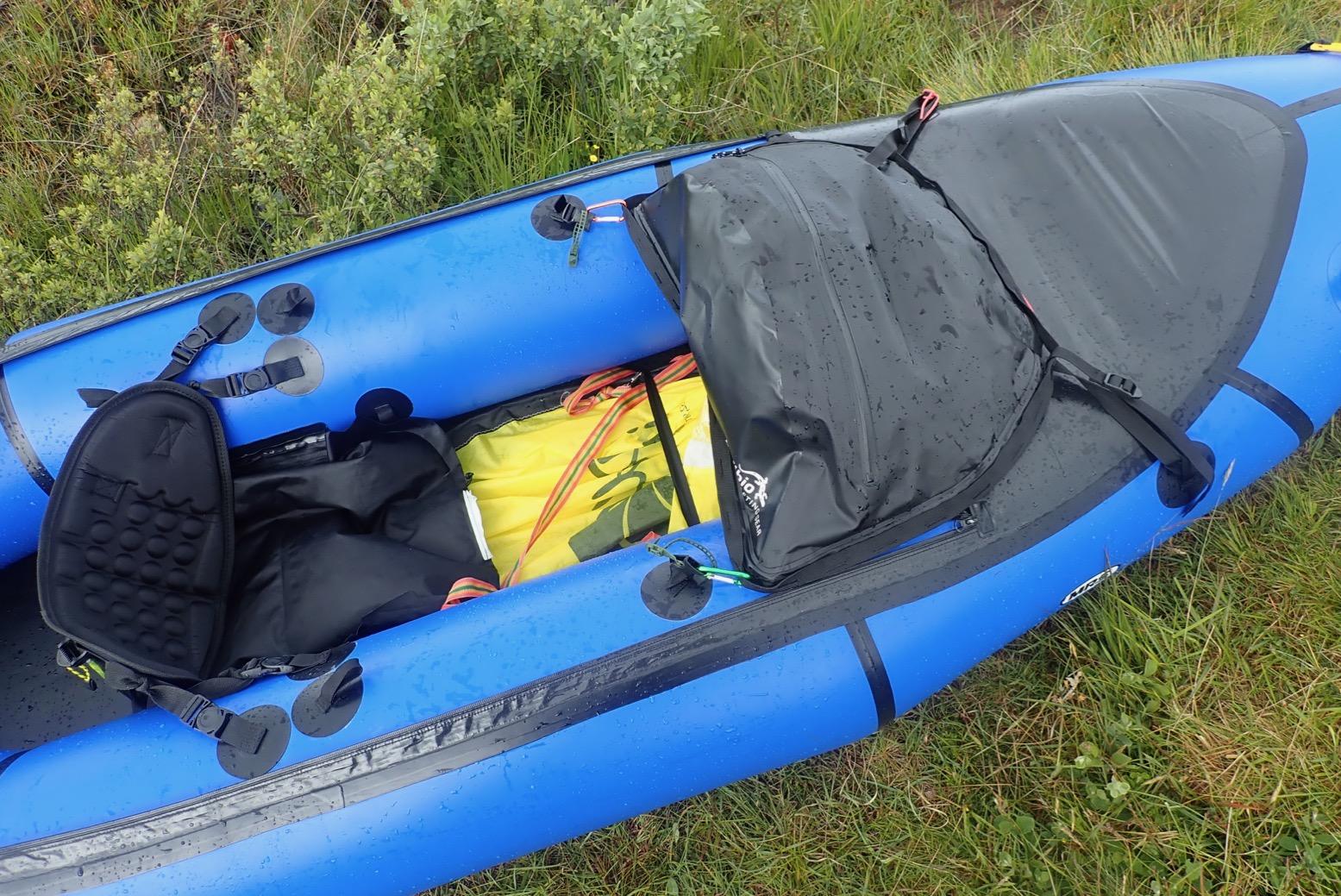 Canoe Sea Kayaking Watersports Touring NRS Tuff Sack Dry Bag Kayaking